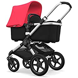 Bugaboo Fox complete UK ALU/BLACK-NEON RED