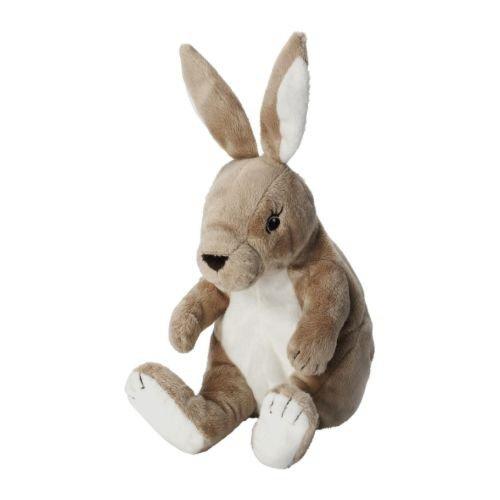 IKEA GOSIG KANIN - Soft toy, beige - 20 cm