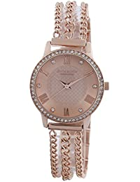 Giordano Analog Rose Gold Dial Women's Watch - A2061-55