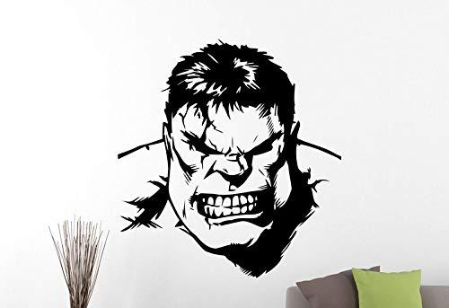 guijiumai Superheld Wandaufkleber Vinyl Material Abnehmbare Aufkleber Art Boy Room Wohnzimmer Wanddekoration Wandaufkleber Cj 8 42x45 cm (Baby Boy Beanie Krankenhaus)