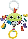 Lamaze Spider in Socks Clip On Pram and Pushchair Baby Toy