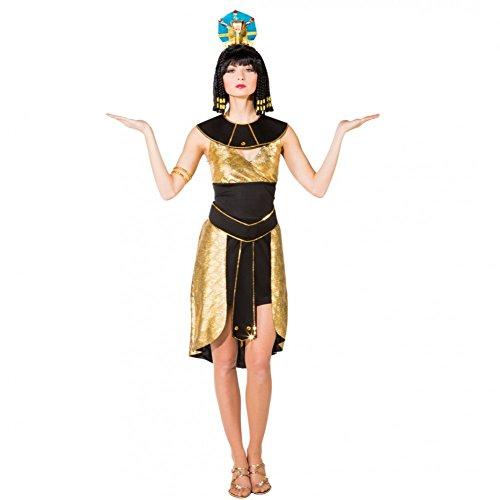 Kostüm Ägypterin Goldschimmer Gr. 42/44 Cleopatra Kleid Fasching Karneval Altes Ägypten