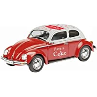 1966 Volkswagen Beetle Coca Cola Red 1/43 by Motorcity Classics 440030 by Coca-Cola