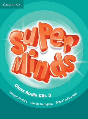 Super Minds Level 3 Class Audio CDs (3) - 9780521219730