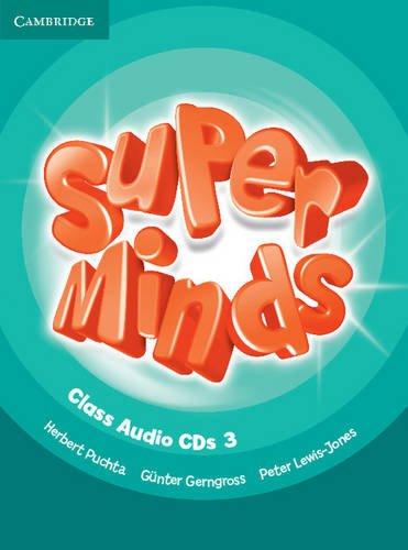 Super Minds Level 3 Class Audio CDs (3)
