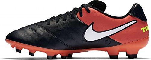 Nike 819213-018, Chaussures de Football Homme Noir (Black/white/hyper Orange/volt)