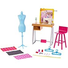 Barbie FXP10 Fashion Design Studio Playset, Multi-Colour