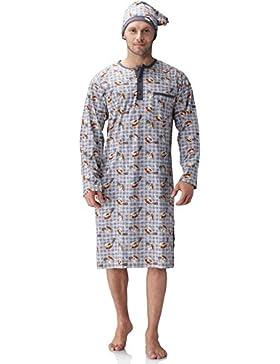 Cornette Camisón Camisones Pijamas Ropa de Dormir para Hombre 110V2015