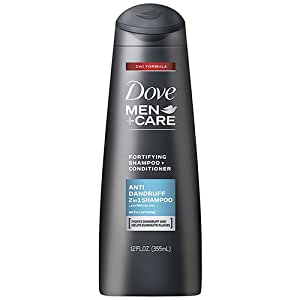 Dove Men+Care 2 in 1 Shampoo and Conditioner, Anti-Dandruff Fortifying, 355ml