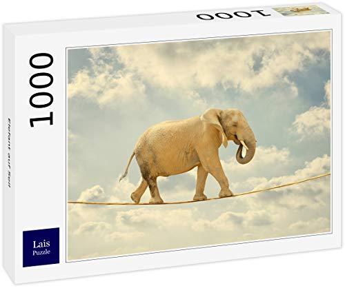 Lais Puzzle Elefante en Cuerda 1000 Piezas