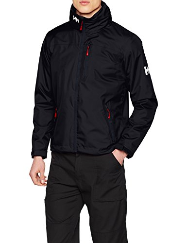 The Helly Hansen Men's Crew Hooded Midlayer Waterproof Jacket is popular among hiking and backpacking enthusiasts but it better known for sailing enthusiast, proving its a reliable waterproof jacket for outdoor use. It features the innovative Helly Tech protection that makes it waterproof and breathable for top-notch comfort.