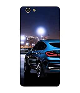 PrintVisa Designer Back Case Cover for Oppo F1s (Road Photograpy Passion Speed Thrill Luxury Automatic)