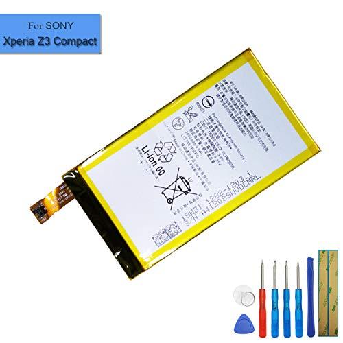 Batteria ai polimeri di litio LIS1561ERPC compatibile con Sony Ericsson E5303 E5306 E5333 E5343 Sony Xperia Z3 Compact Xperia Z3 Mini