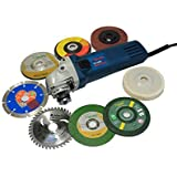 Yuri 6-100 Combo-Powerfull Grinder with 8 Multipurpose Wheels