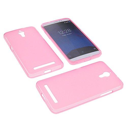 foto-kontor Tasche für coolpad Porto S Gummi TPU Schutz Hülle Handytasche pink