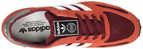 adidas Trainer OG, Scarpe da Ginnastica Basse Uomo Multicolor  (Collegiate Burgundy/ftwr White/red)
