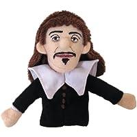 Rene Descartes Finger Puppet and Refrigerator Magnet