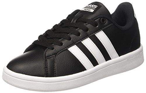 adidas-Damen-Cloudfoam-Advantage-Sneakers-Schwarz-CblackFtwwhtCblack-38-EU