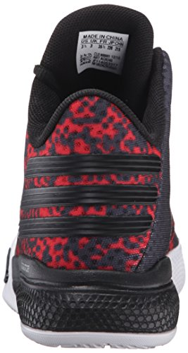 Adidas Light Em Up 2 J Hommes Synthétique Baskets Black-Light Scarlet-White
