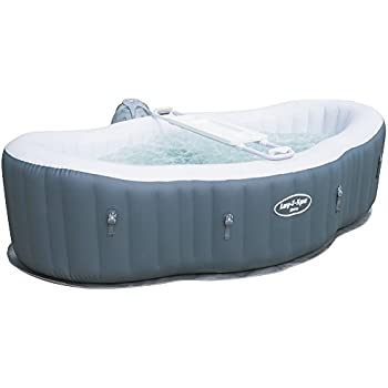 Indoor whirlpool aufblasbar  AQUAPARX Whirlpool AP-550SPA *oval 190x120cm* Pool 2Personen ...