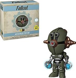 Funko Assaultron - (Glow) Figuras coleccionables Adultos y niños - FiFiguras de acción y colleccionables (Figuras coleccionables, Verde, Videojuego, Adultos y niños, Fallout, Assaultron - (Glow))