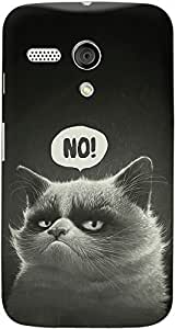 DailyObjects Grumpy Puss Case For Motorola Moto G