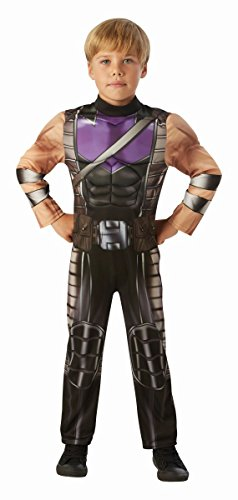 Rubie's Marvel Avengers Kinder Kostüm Hawkeye Karneval 3 bis 4 Jahre
