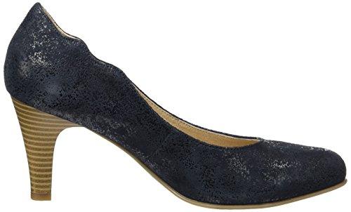 Caprice 22406, Scarpe con Tacco Donna Blu (Ocean Suede)