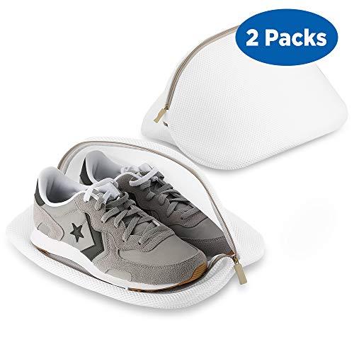 Ecooe 2 Stück Premium Wäschenetz für Schuhe/Sneaker, Multi Schutz Wäschenetz Wäschebeutel für die Reise