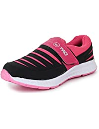 TRASE Touchwood Women s Shark Sports Shoes for Running Jogging (with Hook    Loop Fastner 6929b57372bf