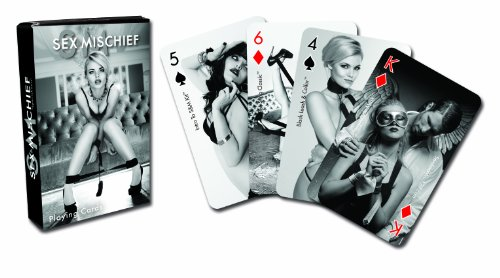 Sex & Mischief S&M Playing Cards, 1er Pack (50 Shades-karte-spiel)