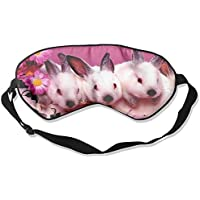 Cute Rabbit Sleep Eyes Masks - Comfortable Sleeping Mask Eye Cover For Travelling Night Noon Nap Mediation Yoga preisvergleich bei billige-tabletten.eu