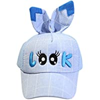 JYJMCute Infant Kids Tiger Cartoon Animal Hat Peak Baseball Cap Sunhat Soft Baseball Base Duck Cap Visor (Blau, Size:46-55cm/18.1''-21.6)