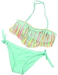 OverDose 1Set Traje de baño de verano Niñas traje de baño niños Split Nylon traje de baño conjunto de bikini