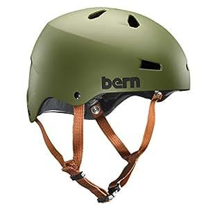 Bern Macon EPS Casque de Ski fine M2ETMOG Team Casque Vert Olive Taille S