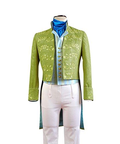 MingoTor Prinz Outfit Cosplay Kostüm Herren (Prinz Charming Kostüm Für Herren)