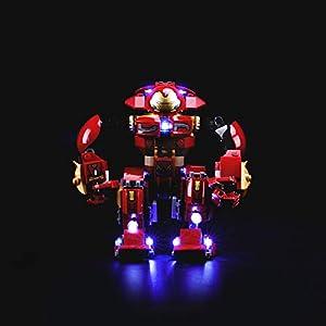 LIGHTAILING Set di Luci per (Super Heroes Hulkbuster) Modello da Costruire - Kit Luce LED Compatibile con Lego 76104… 0746362889050 LEGO