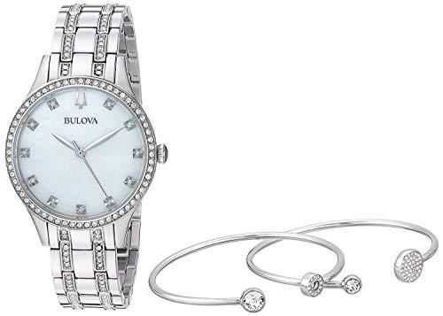 Quarz Uhr mit Edelstahl Armband 96X145 ()