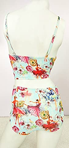CHZY Ms. split high waist swimwear , 1 , xl