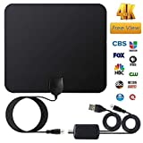 Covvy HDTV Antenna Indoor, Digital Antenna for HDTV with Amplifier TV Signals Booster