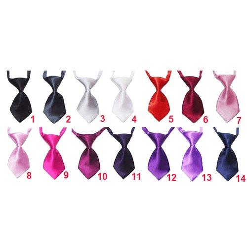Sanwood Haustier Hund Katze Fliege Krawatte Schlips Hundekrawatte Dog Necktie Farbauswahl Modell 6 -