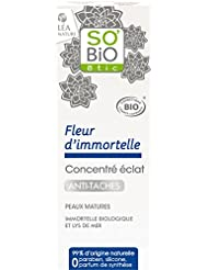 SO'BiO étic Immortelle Antirides Fermeté Concentré Eclat Antitache