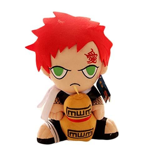 xuritaotao 30 cm Japanischen Anime Naruto Gaara Plüschtiere Sitzen Gaara Plüsch Puppe Spielzeug Weiche Stofftiere Für Kinder Kinder Geschenke (Naruto Plüsch-puppen)