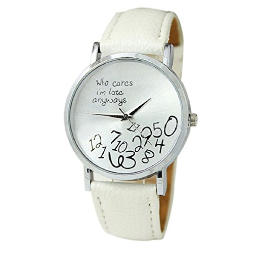 culaterr-neu-bunt-frauen-einfach-who-cares-i-am-late-anyway-leather-band-uhr-armbanduhr-weiss