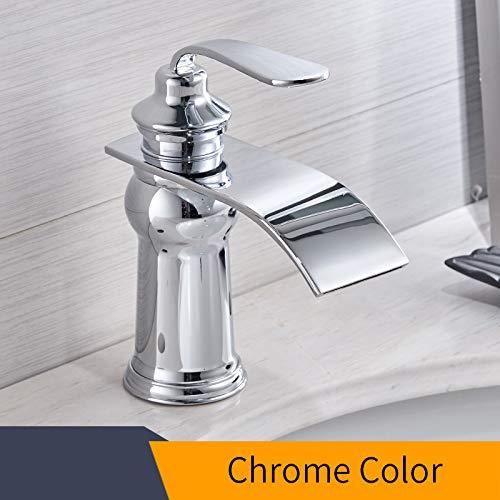 Colore bagno moderno rubinetto cromata