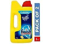 Finish Finish Power Lemon Powder 1 Kg (Pack of 2) by Finish