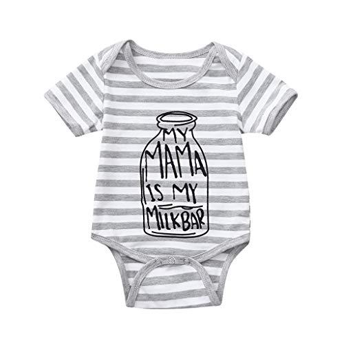 Knowin Kurzärmelige Buchstaben des Babys lieben Pfeildrucke Mädchen Jungen Kurzarm Brief Drucken Bodysuit Strampler Kleidung Unisex Baby Body mit Little Sister Muster