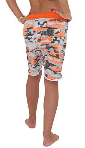 REDRUM   Damen   Bermuda Shorts   kurze Hose   Jogginghose   Sweatshorts    Militär   666fb2d90f