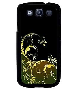 printtech Floral Art Pattern Back Case Cover for Samsung Galaxy S3 Neo::Samsung Galaxy S3 Neo i9300i