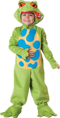 Froggy Babys Kostüm - InCharacter - Frosch Kinderkostüm - Medium - 4 Jahre